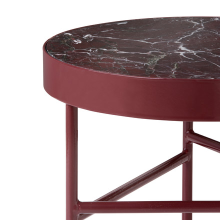 ferm living - Marble Table, red