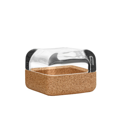 Iittala - Vitriini 60x60mm clear/cork - single image