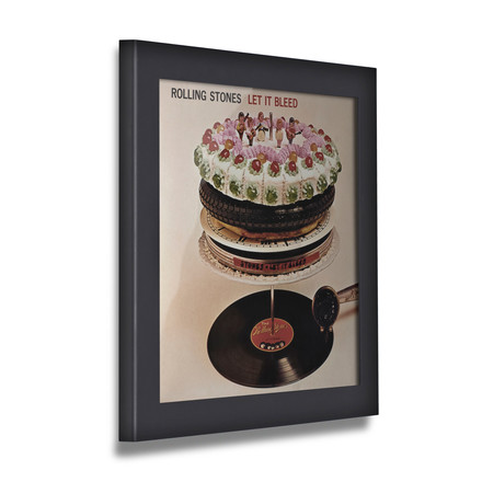 Art Vinyl - Flip Frame, black, closed