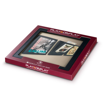 Art Vinyl - Flip Frame, black, package