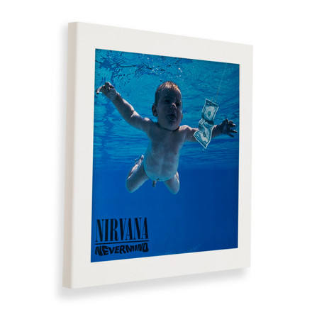 Art Vinyl - Flip Frame, white, closed