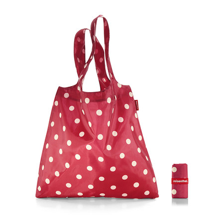 reisenthel - mini maxi shopper, ruby dots