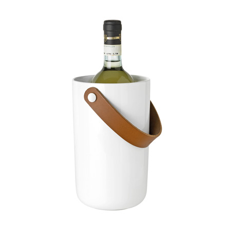 Stelton - Glacier Wine Cooler, white, with bottle