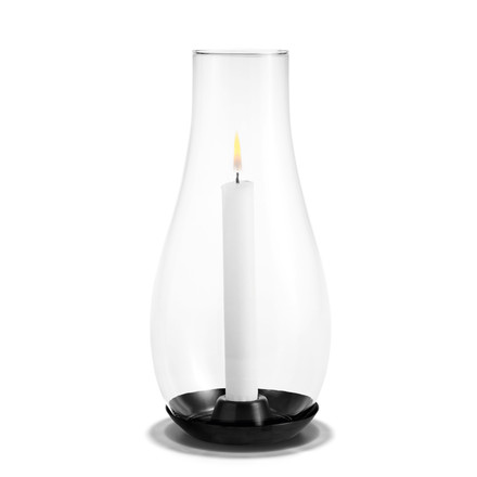 Holmegaard - Design with light candleholder, transparent