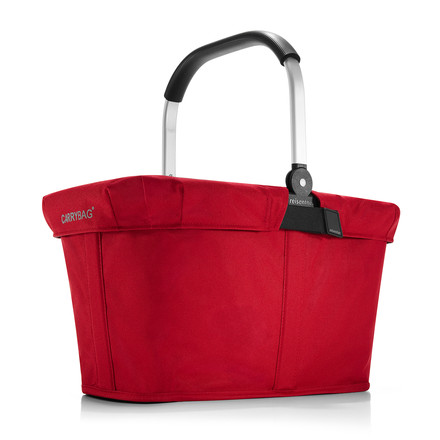 reisenthel - carrybag, red, with cover