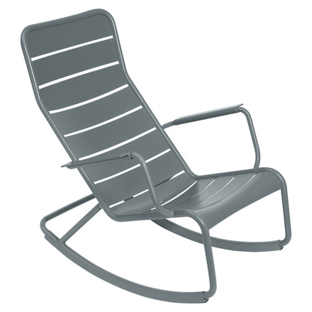 fermob - Luxembourg rocking chair, storm grey - single image