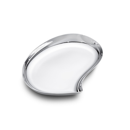Georg Jensen - Bloom Tray, medium, stainless steel