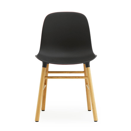 Normann Copenhagen - Form Chair, black / oak