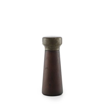 Normann Copenhagen - Craft pepper grinder, small / stained oak - single image
