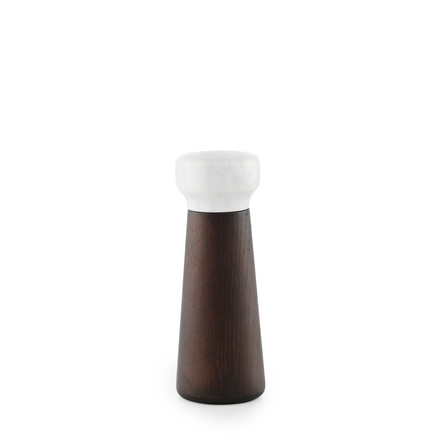 Normann Copenhagen - Craft salt grinder, small / stained oak - single image