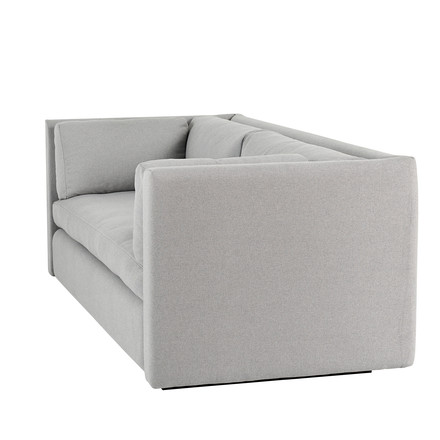 Hay - Hackney Sofa, 2 seater, Scomo light grey