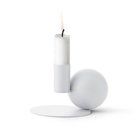 Menu - Optical Candle Holder, white