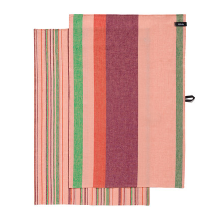 Iittala - Origo Kitchen Towels (Set of 2 pieces), twins pink 43 x 67 cm - single image