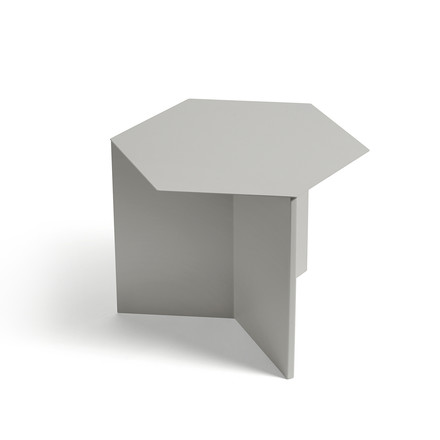 Hay - Slit Table Hexagon, grey