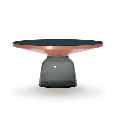 ClassiCon - Bell coffee table copper / quartz grey