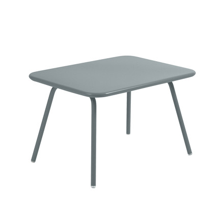 Fermob - Luxembourg Kid Children's Table, storm grey - single image
