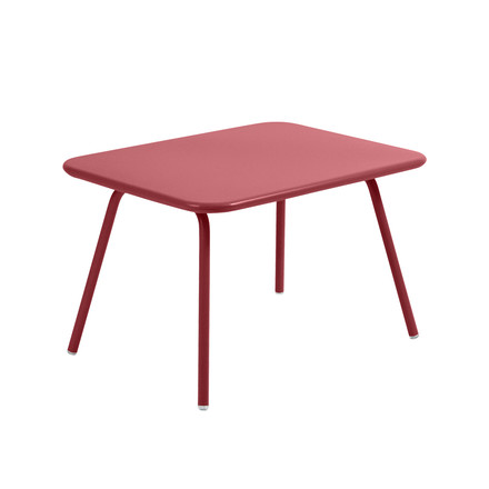 Fermob - Luxembourg Kid Children's Table, chili - single image