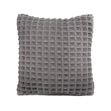 Objekten - Waffle Cushion, light-grey