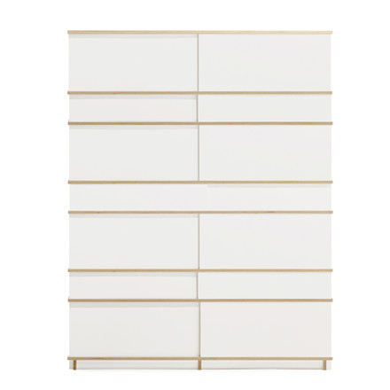 Objekten - Slide Cupboard, white