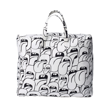 Hay - Got this licked Beach Bag large, white