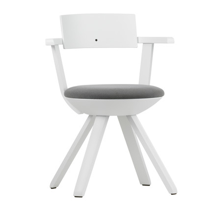 Artek - KG 002 Rival Chair High white, white, black / white