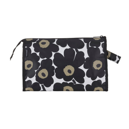 Marimekko - Mini-Unikko Media Cosmetic Bag, white / black