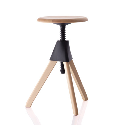 Magis - Jerry The Wild Bunch Stool (50-60 cm), black