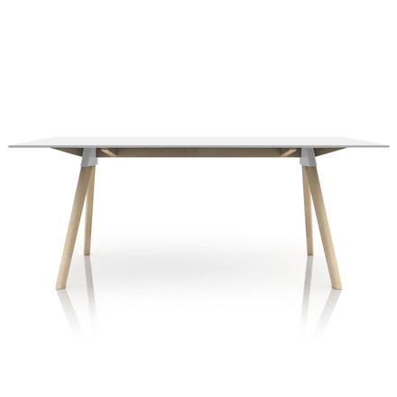 Magis - Butch The Wild Bunch Dining table, beech natural / white