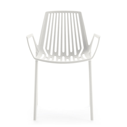 Fast - Rion armchair, white