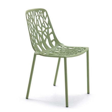 Fast - Forest stackable chair, khaki