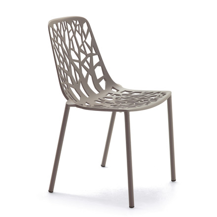 Fast - Forest stackable chair, taupe