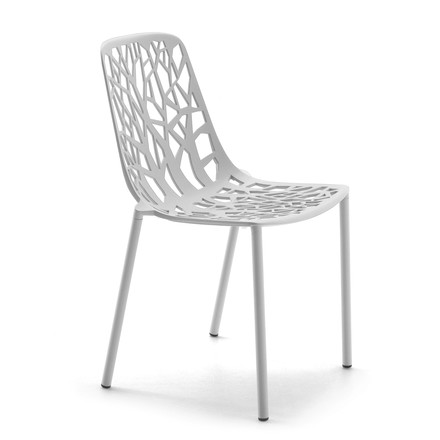 Fast - Forest Stacking Chair, white - single image