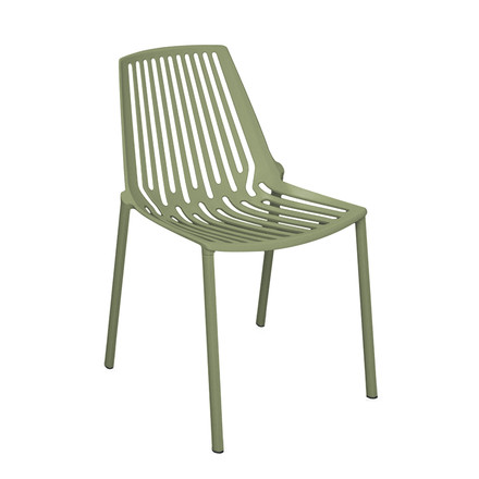 Fast - Rion stackable chair, khaki