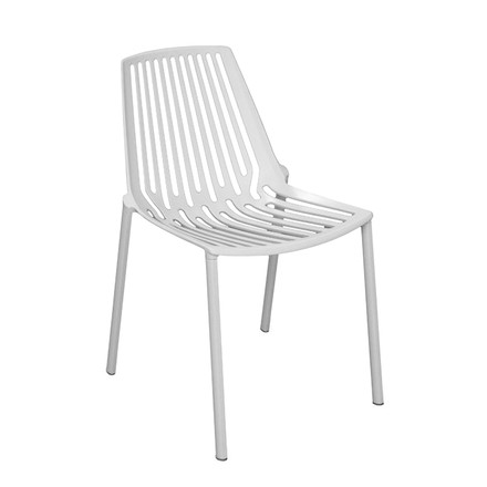 Fast - Rion stackable chair, white