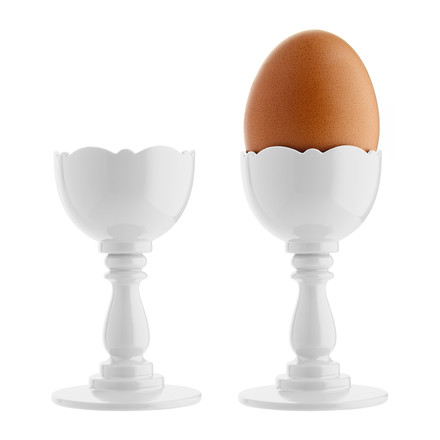 Alessi - Dressed Eggcup, white