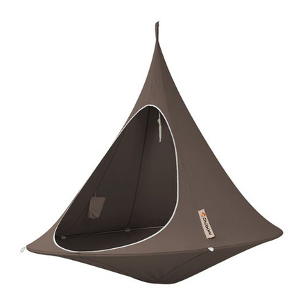 Cacoon - Double Hanging Chair, taupe