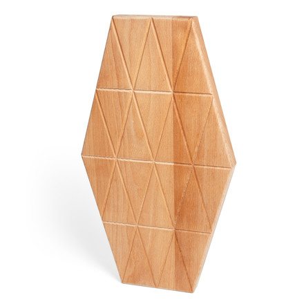 areaware - Grid Serving Boards of oiled beech, large