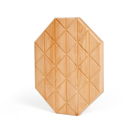 areaware - Grid Serving Boards of oiled beech, medium