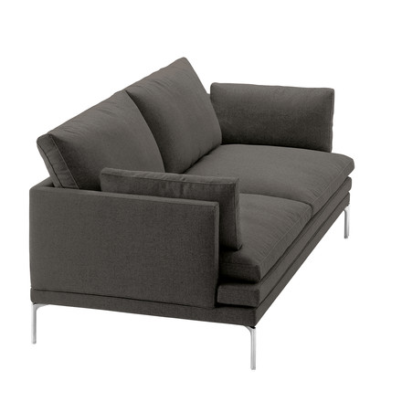 Zanotta - William Sofa, 180 cm, Vasco 20, dark grey (25805)
