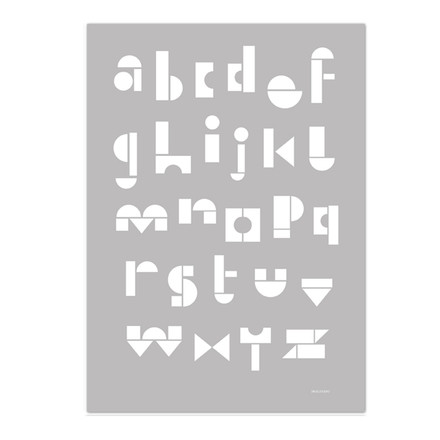 Snug - snug.abc Poster, light grey