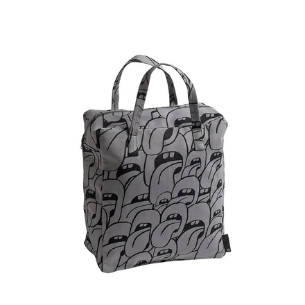 Hay - Got this licked Beach Bag small, grey