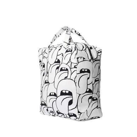 Hay - Got this licked Beach Bag small, white