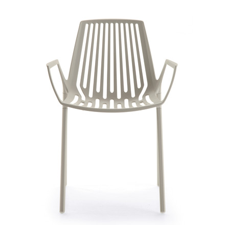 Fast - Rion armchair, light grey