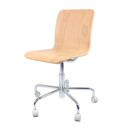 Magis - Soho Office Chair, beech, without armrest