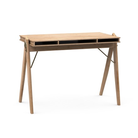 We Do Wood - Field desk with compartments