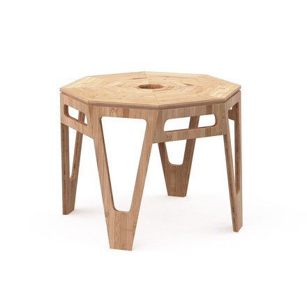 We Do Wood - Octagon made form bamboo