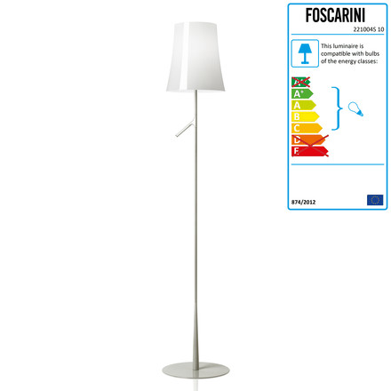 Foscarini - Birdie Floor Lamp without dimmer in white