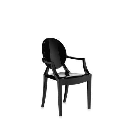 Kartell - Lou Lou Ghost in opaque black