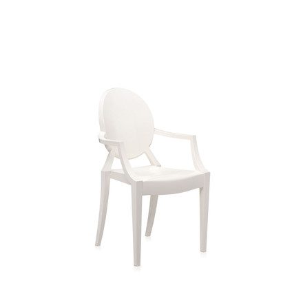 Kartell - Lou Lou Ghost in opaque white