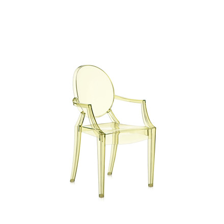 Kartell - Lou Lou Ghost, yellow